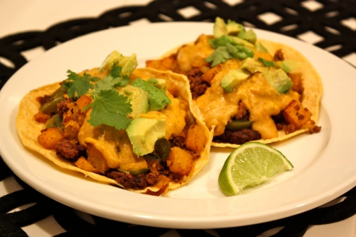 Breakfast Tacos with Homefries